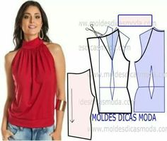 Amazing Sewing Patterns Clone Your Clothes Ideas. Enchanting Sewing Patterns Clone Your Clothes Ideas. Dress Sewing Patterns, Blouse Patterns, Sewing Patterns Free, Free Sewing, Clothing Patterns, Blouse Designs, Sewing Tips, Sewing Projects, Fashion Sewing