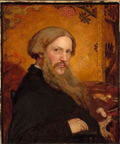 Dante Gabriel Rossetti (1828-1882), painted 1877?, aged 49.