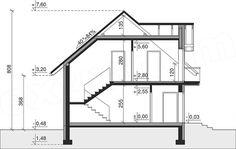 Rzut projektu Dom przy Alabastrowej 33 Model House Plan, House Plans, 100 M2, Study Office, Design Case, Aquaponics, Modern House Design, Home Projects, Future House