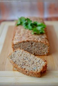 Healthy Food Options, Banana Bread, Vegan Recipes, Food And Drink, Low Carb, Snacks, Cooking, Breakfast, Yum Yum