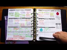 Planner Pad Review - YouTube - highlight over days to make more visible! Great for the new less bold layout for 2015
