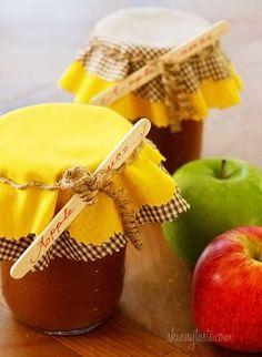 Crock Pot Applesauce #Applesauce #crockpot #slowcooker #sidedish | http://smoothierecipesforgoodhealth.blogspot.com