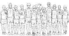 #Haikyuu!! (Karasuno Volleyball Club). Photo by Haikyuu official site( http://www.j-haikyu.com/anime/ )