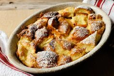 NYT: Simple Bread Pudding