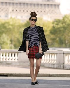 80s Plaid Blazers Are Everywhere This Fall (Here's How to Wear One)