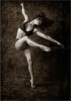 What I think I look like when I dance (I just want this body without the work--is that too much to ask??)