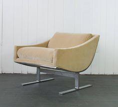 Pair of Kipp Stewart Lounge Chairs