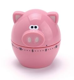Pigs are known to be fond of food, so why not invite one to help you out with the cooking. This Piggy Wiggy Kitchen Timer will make cooking and baking extra fun. Design Shop, Bacon Gifts, Pig Kitchen, Kitchen Dining, Cocina Shabby Chic, Piggly Wiggly, Kitchen Timers, Cute Piggies, This Little Piggy