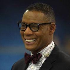 Sportscaster Lewis Johnson