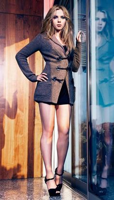Scarlett Johansson, in reflective #mood