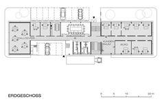 Wiener Neustadt Customs Office - floor plan