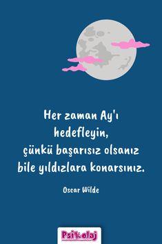 #oscarwilde #başarı #motivasyon #inanç Funny Share, Keep Going, Sentences, Stickers, Motivation, Happy, Quotes, Life, Frases