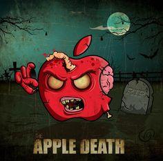 The Apple Death #vector #WalkingDeath