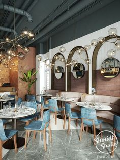 ideas for design modern cafe chairs Interior Design Plants, Restaurant Interior Design, Modern Interior Design, Interior Paint, Arch Interior, Decoration Restaurant, Deco Restaurant, House Restaurant, Coffee Shop Design