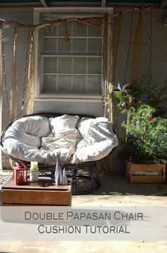 : Double Papasan Chair  Hunting for one of these - comfiest chair ever
