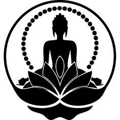 Moon buddha louisa on wannado! Art Buddha, Buddha Drawing, Buddha Painting, Buddha Artwork, Buddha Tattoos, Buddha Tattoo Design, Mandala Art, Yoga Art, Stencil Painting