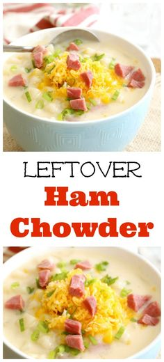Leftover Ham Chowder | Kitchen Dreaming