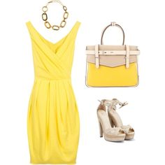 Love yellow!  Get the Dress for $34.99!  http://www.secretkrushcorner.com/collections/frontpage/products/miranda-dress#13325441983481&268