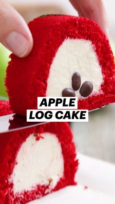 Easy Cookie Recipes, Sweet Recipes, Cake Recipes, Dessert Recipes, Abnormal Pap, Apple Ingredients, Log Cake, Green Food Coloring, Melting Chocolate