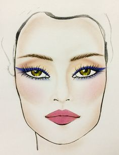 "The Most Gorgeous Makeup For Green Eyes - Combine periwinkle liner such as Clinique Chubby Stick Shadow Tint in Plush Periwinkle on the upper lash line and sweep a shadow like Kat Von D Ink Liner in Nietzsche along the lower lash line. ""Adding a violet/plum mascara to the look will enhance the effect even more!"""
