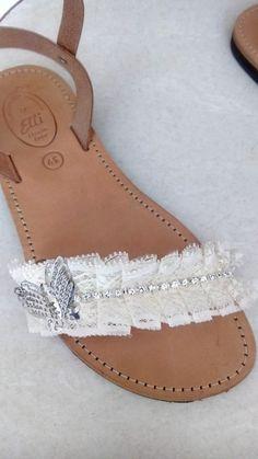 Handmade leather sandals designed by Elli lyraraku!!
