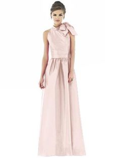 Alfred Sung Style D533 - silk dup  http://www.dessy.com/dresses/bridesmaid/d533/