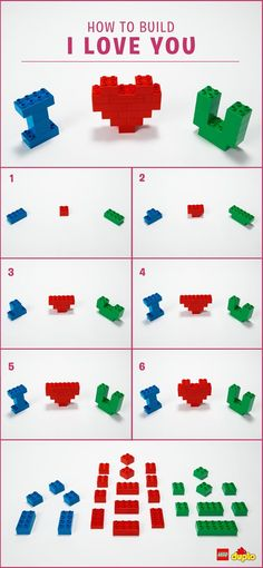 Whether they are big or small, why not remind that special someone in your life how much you care for them in a creative and fun way? :hearts: Check out our building instructions here: http://www.lego.com/en-us/family/articles/heart-melting-valentines-crafts-for-toddlers-2949acf1ebe14db6a8ff0a1b6cf95a30