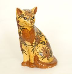 Chelsea Pottery cat