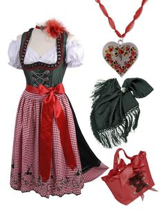dirndl in traditional color