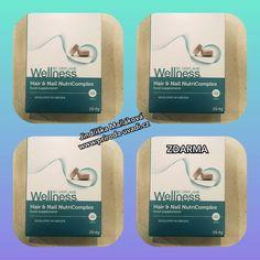 NutriComplex pro vlasy a nehty - NutriComplex pro vlasy a nehty je doplněk stravy s obsahem zinku, selenu, železa, vitaminu C, aminokyselin a rostlinných výtažků. Selen přispívá ke kvalitě vlasových vláken a zinek podporuje zdraví nehtů. Užívejte dvě tablety denně. Wellness, Nails, Finger Nails, Ongles, Nail, Manicures