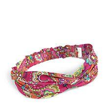 Knotted Headwrap in Pink Swirls | Vera Bradley