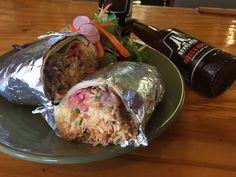 Perfect lunch to end the work week: Smoked Chicken Burrito at Boca 31. Loaded with rice beans garlic crema jack cheese & pico de gallo!  @boca31.denton  #boca31 #chefandresmeraz #dentonslacker #dealoftheday #lunchspecial #denton #dentontexas #dentontx #dentoning #wedentondoit #wddi #unt #twu #dentonite #doingitdenton #dentonproud #discoverdenton