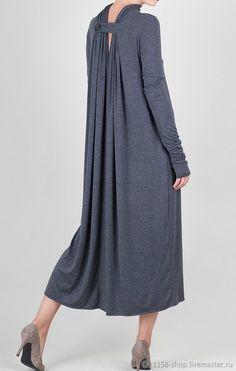 Купить Платье А-силуэта - платья на заказ, дизайнерские платья, длинные платья, свободное платье