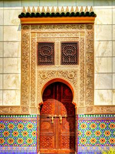 Islamic Architecture - so much beauty in it.