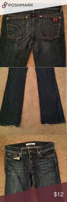 Dark wash jeans 29 inseam. Slight flare Joe's Jeans Jeans Flare & Wide Leg