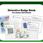 This is a ready to print foldable book that will help you guide your junior girl scouts to earn the Detective Badge.  Simply print the pages back t...