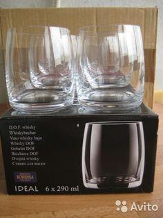 Набор стаканов Crystalite Bohemia ideal для виски купить в Москве на Avito — Объявления на сайте Avito