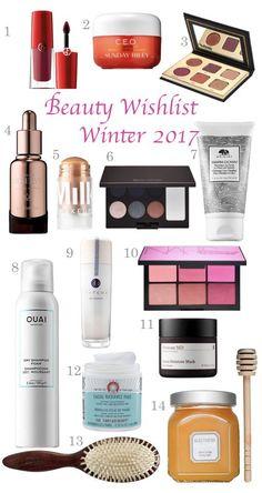 Beuaty Wishlist: Winter 2017 - beautiful beakers