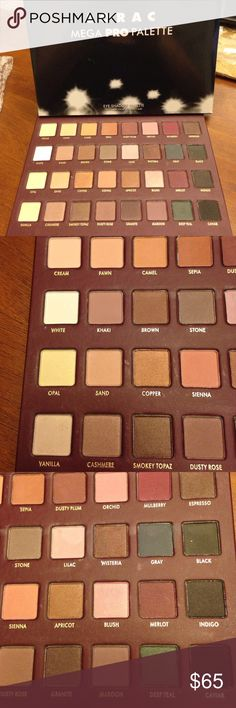Lorac Mega Pro Palette NEW NEW no swatches! No auth guarantee as it was a gift. Lorac Makeup Eyeshadow
