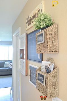 40 Cheap and Easy Rustic Home Decor DIY Ideas #rustic #homedecor #diy #diycrafts #rustichomedecor #homedecorideasdiy 40 Cheap and Easy Rustic Home Decor DIY Ideas #rustic #homedecor #diy #diycrafts #rustichomedecor #homedecorideasdiy<br> This may be my most glamorous post yet; it even says toilet in the title! The master bathroom is one of the most used rooms in the house. It's where I start and end my day. Currently I have all the extra towels in the guest bath and hall closet in the front… Command Center Kitchen, Family Command Center, Command Centers, Family Message Center, Home Improvement Projects, Home Projects, Home Office Decor, Diy Home Decor, Decor Room