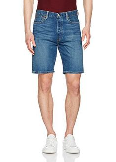Levi's Men's 501 Hemmed Shorts From Levi's come the 501 Hemmed Winner Denim Shorts in Mid Blue colour, featuring a brand tab at the back of the waistband. Made from a 2 way stretch fabric, these straight leg shorts sport a button fly and a traditional five-pocket design.Levi's Blue 501 Hemmed Winner Denim Shorts.Brand New and Genuine. We are an authorised seller of Levi's.See product description below for more information.  501, 7 for all mankind, calvin j