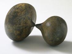 """Isamu Noguchi. Mitosis. 1962. Bronze. 14 1/2 x 22 1/4 x 16 1/2"""" (36.8 x 56.5 x 41.8 cm)."""