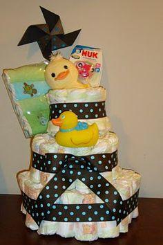 A how to Diaper Cake