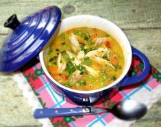 Reteta culinara Supa bulgareasca de linte si macrou afumat din categoriile Mancaruri cu legume si zarzavaturi, Supe de carne, Supe de legume. Cum sa faci Supa bulgareasca de linte si macrou afumat Supe, Thai Red Curry, Dinners, Ethnic Recipes, Food, Celery, Dinner Parties, Food Dinners, Essen