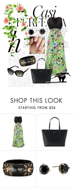 """Untitled #409"" by skylovessave ❤ liked on Polyvore featuring Whiteley, WithChic, Dana Buchman, Ashley Pittman and Kate Spade"