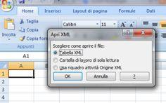 Come aprire documenti in formato XML Questa guida spiega come aprire documenti in formato XML sia con un semplice editor di testo che con Excel. I file XML (sigla di eXtensible Markup Language) sono utilizzati per descrivere documenti s #xml #aprirexml