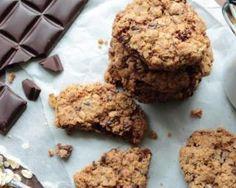 Cookies complets diététiques au chocolat