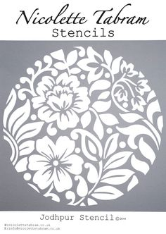 New Wall Stencil Patterns Templates Art Deco 46 Ideas Stencil Diy, Stencil Designs, Stenciling, Wall Stencil Patterns, Machine Silhouette Portrait, Silhouette Cameo, Diy And Crafts, Paper Crafts, Kirigami