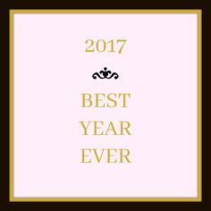 Affirmations. Printable. 2017 Best Year Ever