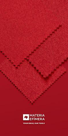 Combinación de moqueta ferial color rojo con rojo para stands, ferias, congresos y eventos. #Your